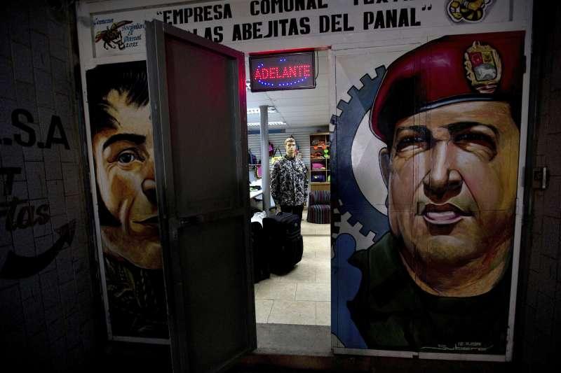 委內瑞拉國內許多店家都接受顧客使用「帕納爾」購物。(美聯社)