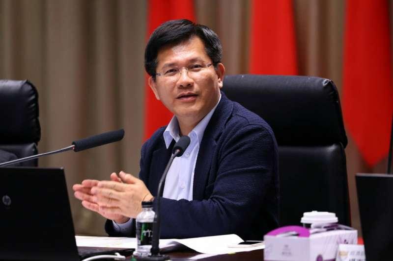 台中市長林佳龍支持環保署提出的「會商經濟部」版本,並反對政院支持的「會同經濟部」版本。(資料照,台中市政府提供)
