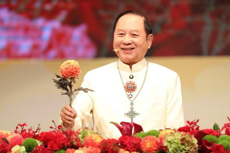 2020的新國會,台灣人民也應該有全新的選擇。圖為國會黨主席妙天。(資料照,聖光禪教會提供)