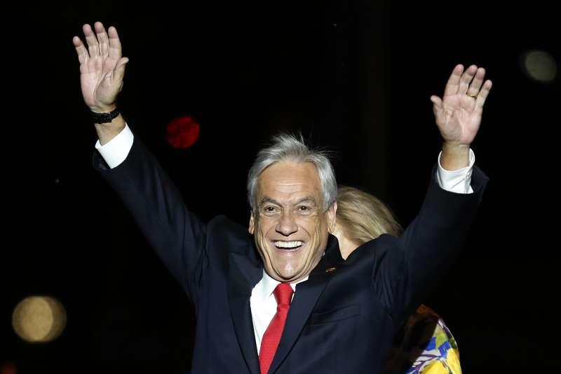 智利總統決選:總統當選人皮涅拉(AP)