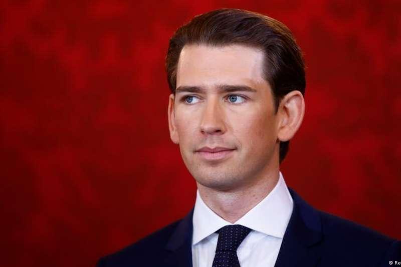 奧地利總理庫爾茲。(德國之聲)
