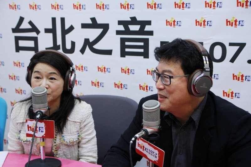 民進黨立委姚文智19日接受「蔻蔻早餐」節目主持人周玉蔻專訪。(資料照,蔻蔻早餐提供)