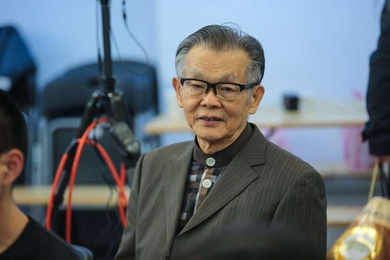 20171223-張俊宏23日出席「和平的力量,尊嚴的追尋」講座。(顏麟宇攝)