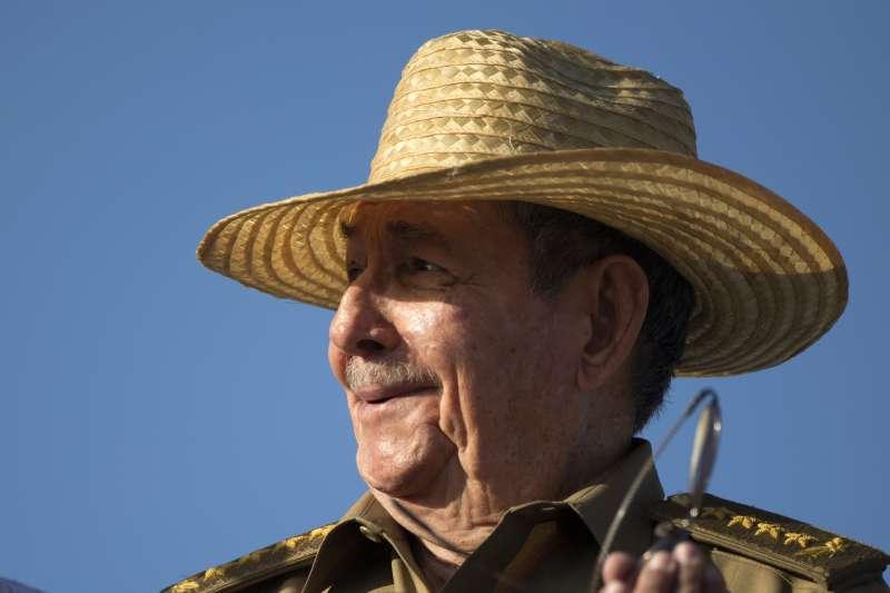現任古巴元首勞爾卡斯楚。(美聯社)
