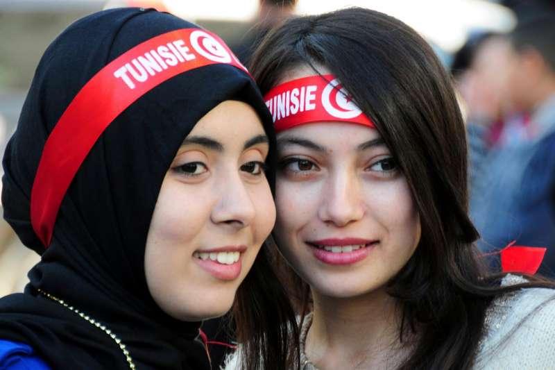 突尼西亞,青年世代,未來的希望(AP)