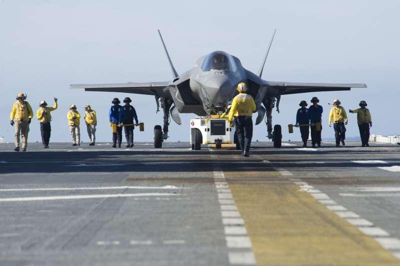 美國海軍F-35B戰機。(美國海軍官網)