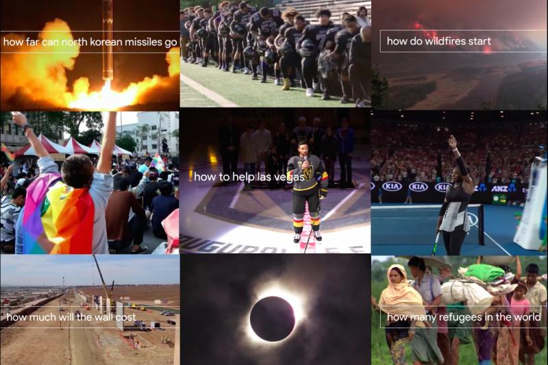 2017年即將進入尾聲,Google特別製作了2分鐘的短片來回顧今年發生的大小事。而台灣也因為「這件事」驚喜入鏡了!(圖/Google@youtube)