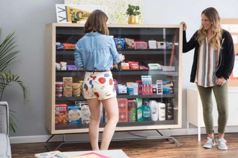 智慧販賣箱Bodega。(取自Bodega網站)