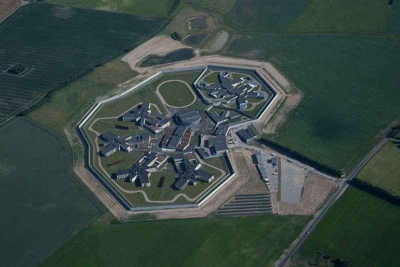 丹麥斥資40億台幣打造最人性化監獄。(圖/cfmøller建築師事務所)