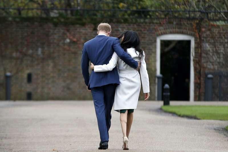 英國女王同意哈利王子夫婦「淡出」王室的決定。(美聯社)