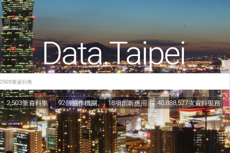 主掌北市開放資料的資訊局長李維斌受訪表示,以目前資訊局的人力及預算能量,目前僅能做到回應局處的政策需求,並針對民眾提出的開放需求回應。(取自data.taipei)