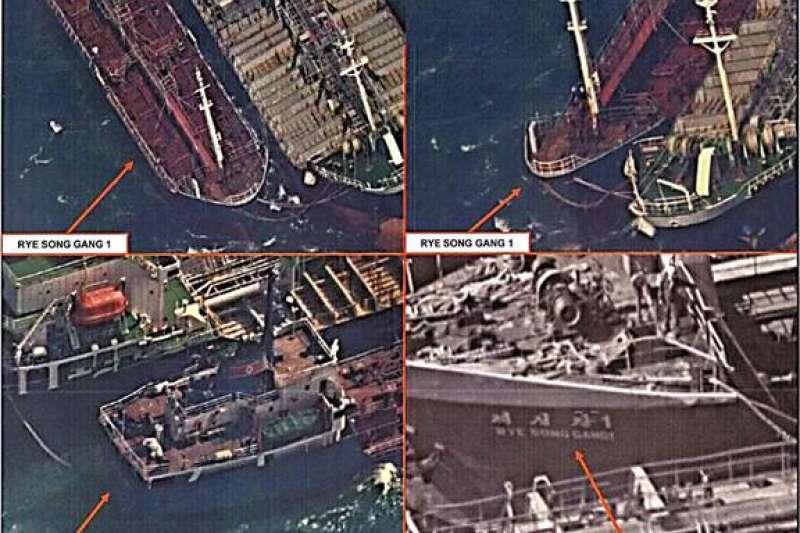南韓媒體指稱台灣「Billions Bunker Group」租用香港籍油輪「方向永嘉號」(Lighthouse Winmore)在公海上向北韓船隻交運約600噸油品(US Treasury)