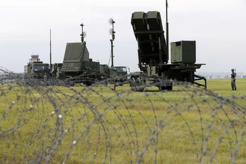日本愛國者飛彈防禦系統(AP)