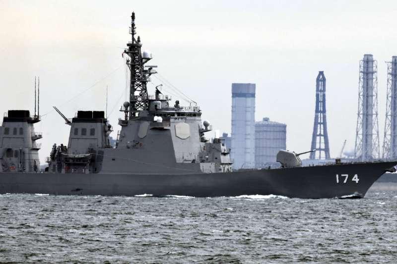 日本海上自衛隊神盾作戰系統飛彈驅逐艦「霧島號」(AP)