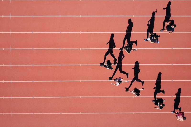 跑步,比賽,賽跑,田徑。(圖/Steven Lelham@Unsplash)