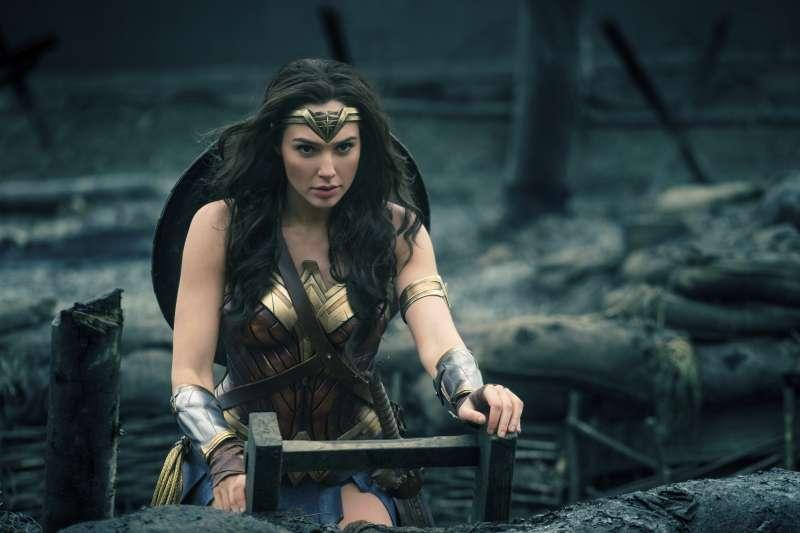 2017年最熱門英雄電影《神力女超人》。(美聯社)