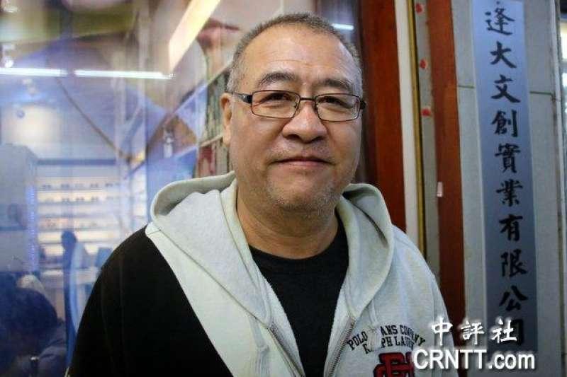 台中市眷村文化協會總幹事胡國誠表示,國民黨在2018年無法贏得地方選舉,那這黨將成歷史。(取自中評社)