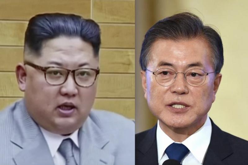 文在寅與金正恩最近的談判成果,將直接關係到朝鮮半島乃至於整個東北亞的和平穩定。(美聯社)