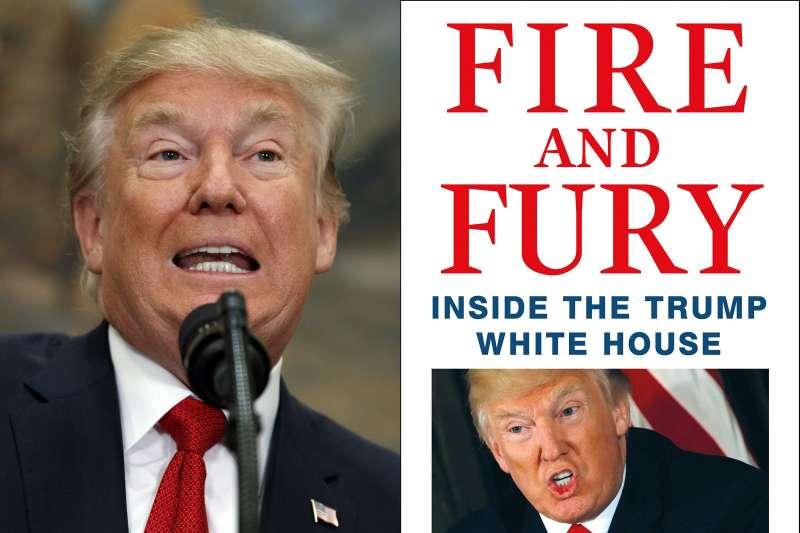 《烈焰與怒火:川普的白宮內幕》(Fire and Fury: Inside the Trump White House)(AP,Amazon)