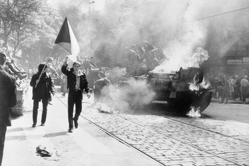1968年,捷克布拉格之春(Prague Spring)(Wikipedia / Public Domain)