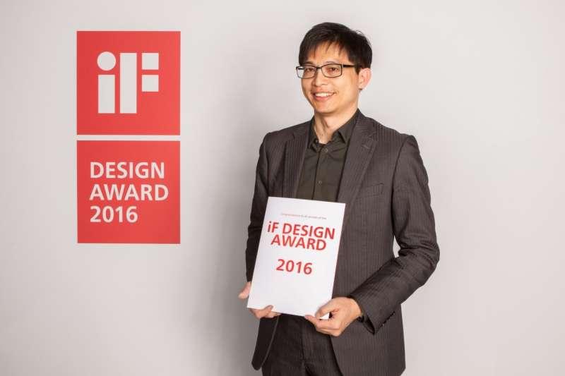 陳仲竹執行長帶領萊鎂醫團隊,榮獲德國 iF Design Award等多屆國際獎項肯定與殊榮。(萊鎂醫/提供)