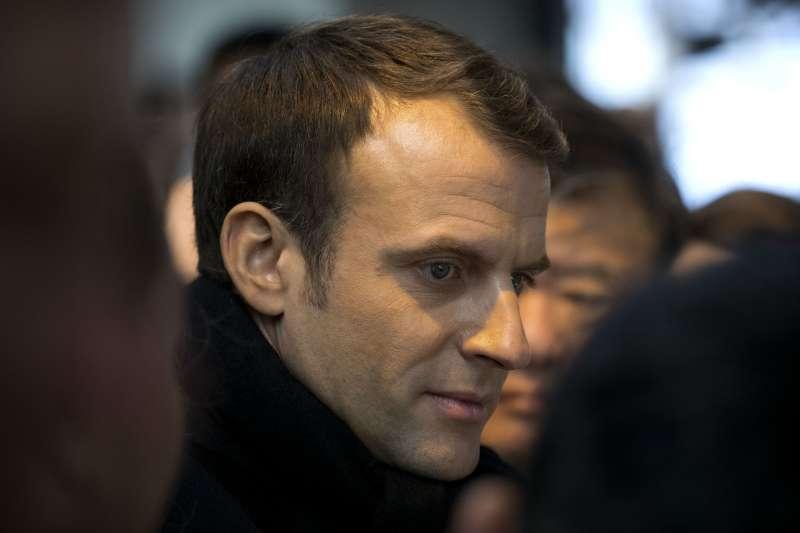 法國總統馬克宏8日至10日到訪中國(AP)