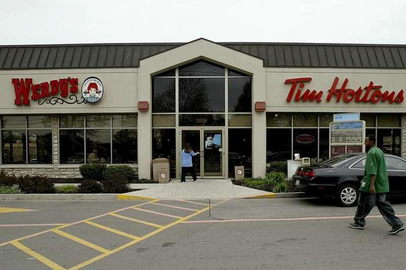 加拿大本土知名咖啡連鎖品牌「提姆霍頓」(AP)