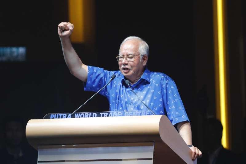 馬來西亞現任總理納吉(Najib Razak)(AP)