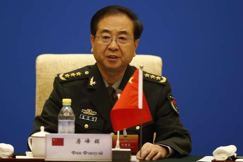 涉嫌行賄、受賄的中國人民解放軍上將房峰輝(新華社)