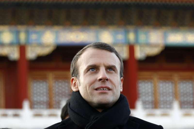 法國總統馬克宏(美聯社)