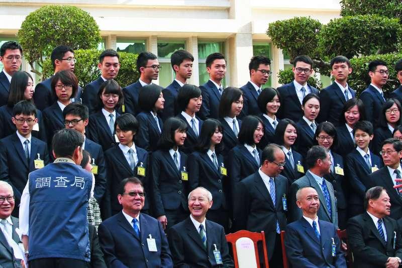 調查班第54期共有91名學員結業。(郭晉瑋攝)
