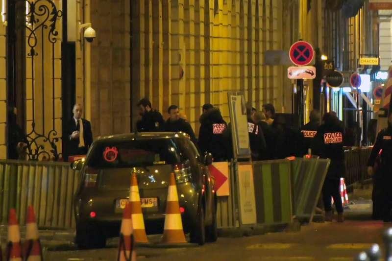 2018年1月10日,巴黎麗茲飯店(Ritz Paris)發生珠寶劫案(AP)