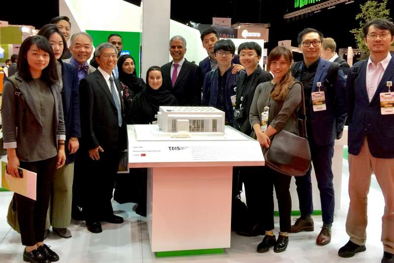 交大TDIS團隊將於2018年11月代表台灣參加「中東太陽能十項全能綠建築競賽」。(圖/國立交通大學提供)