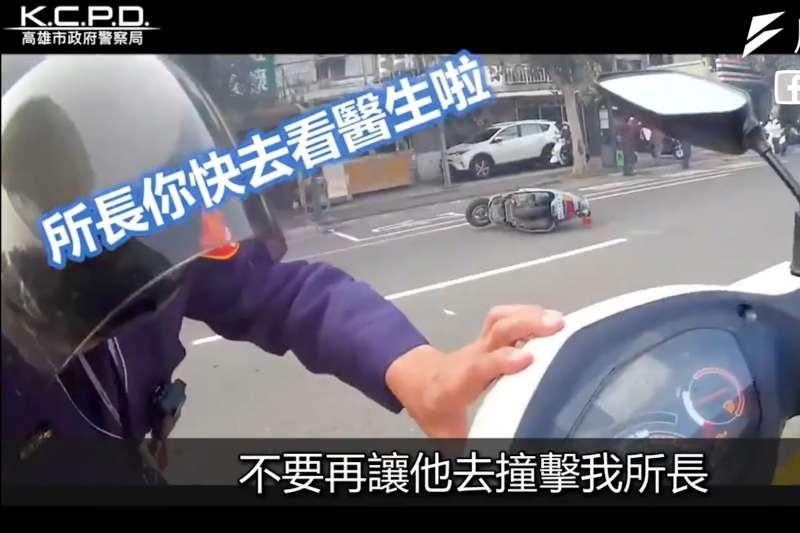 警察難為!「當同事被嫌犯撞倒拖行,我該開槍嗎?」關鍵5秒下的決定卻足以影響一輩子