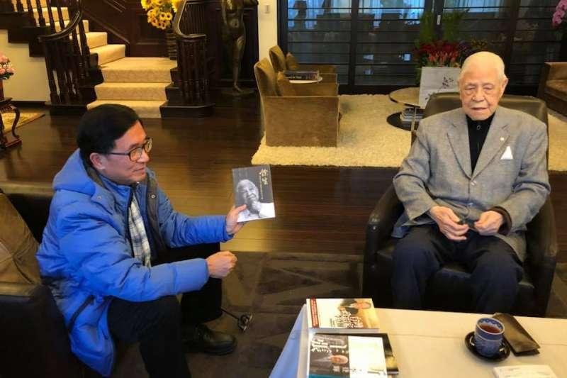 前總統陳水扁15日拜訪另一位前總統李登輝。(陳致中臉書)