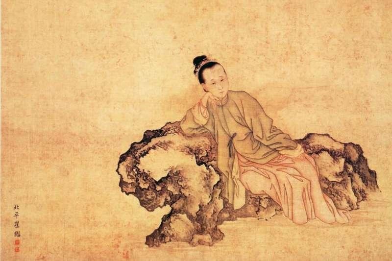 古時候深信「女子無才便是德」,少數女性必須透過女扮男裝的方式,才能夠發揮文采。圖為清代崔錯繪製的李清照像。(圖/Zhao Bingzhen school – Palace Museum, Beijing,研之有物提供)