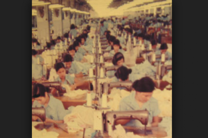 勞基法前身是「工廠法」,但已經不符合現代產業的變遷和需求。(來源:加工出口區四十周年特展官網)