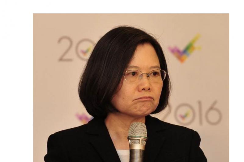 作者認為蔡英文未能苦民所苦,如果她繼續向下沉淪—2018、2019台灣代表字,將決定2020年總統是誰家天下?(資料照,風傳媒)