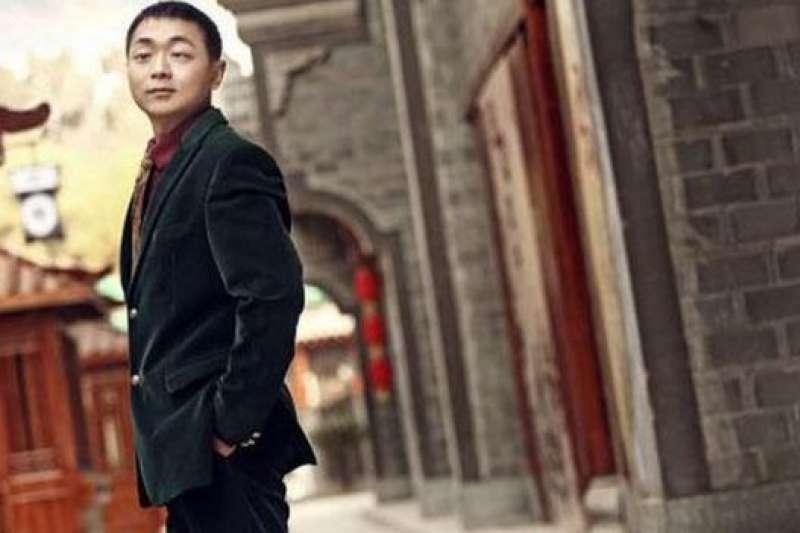 「中國有人公益基金會」創始人蔡聰。(BBC中文網)