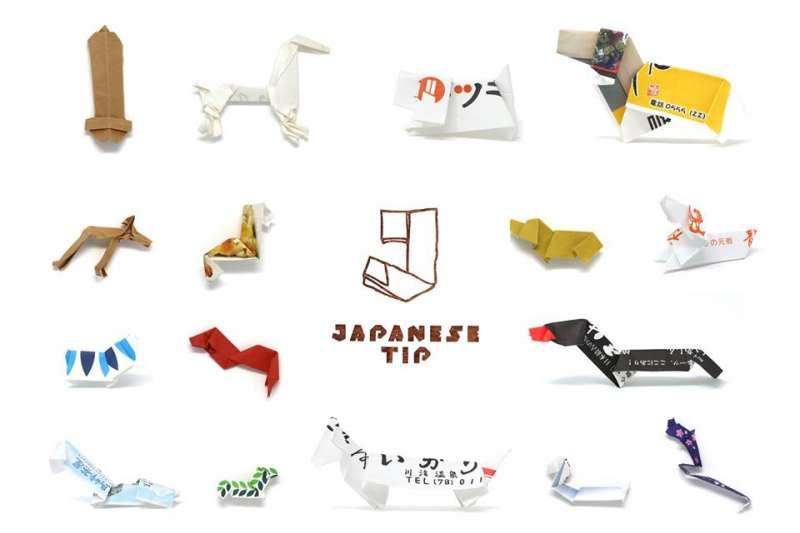 策展人辰巳雄基(Yuki Tatsumi)巡迴全日本蒐集了來自大約130家餐廳、總計1萬5千件的箸袋作品,巧手創意引人驚嘆。(圖/JAPANESE TIP@Facebook)