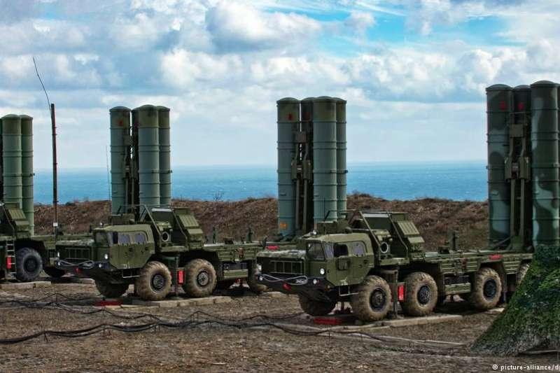 S-400防空飛彈系統。(德國之聲)