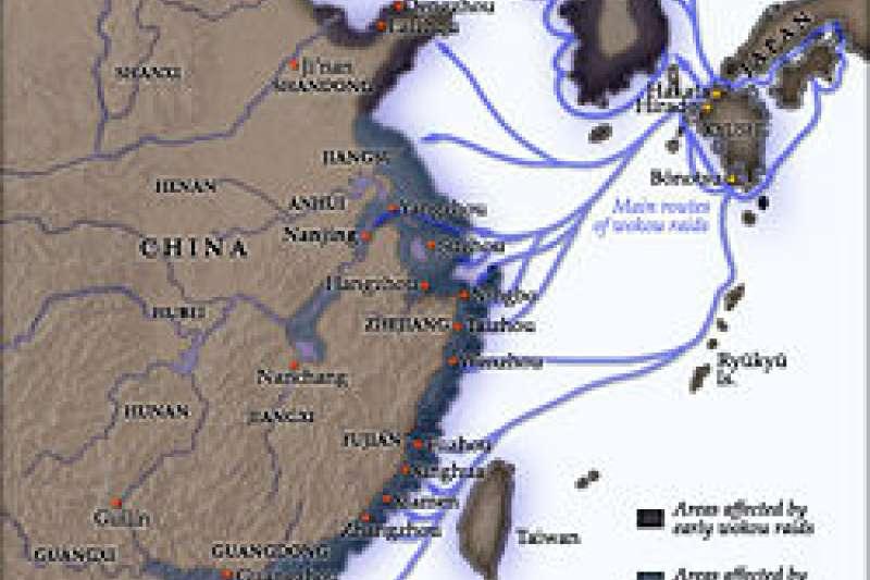 十六世紀時,中國沿岸地區再度出現海盜的寇掠行為,也就是所謂的後期倭寇。(維基百科)