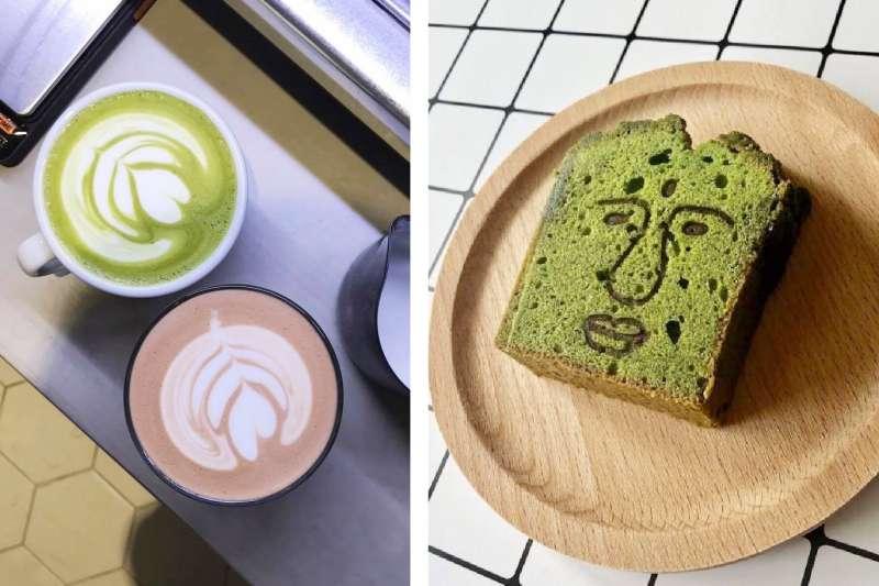 想吃道地抹茶不必飛日本,台灣就有好幾家。(圖/Moin Coffee Stand@Facebook)