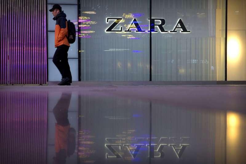 國際服裝業者「ZARA」日前將台灣列為「國家」,掀起中國網友怒火與官媒撻伐,還引發一連串後續效應(AP)
