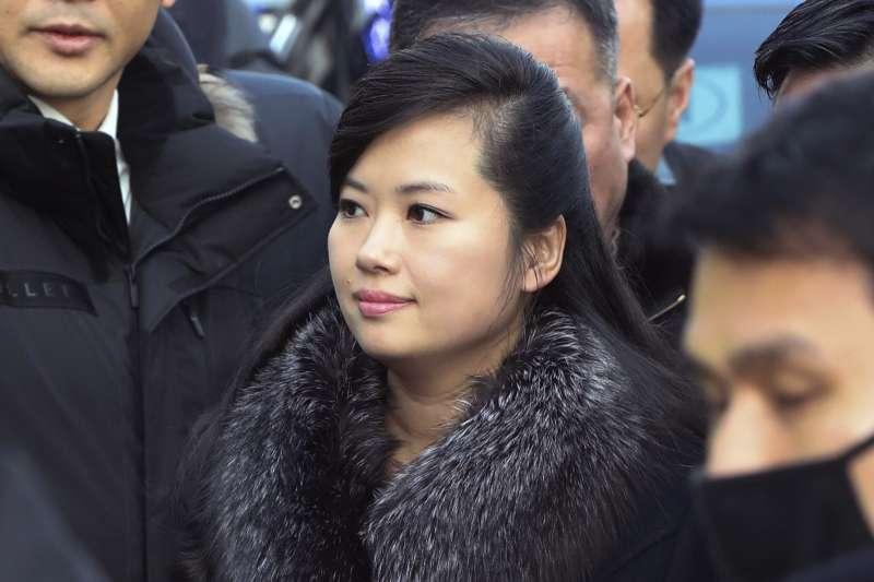2018年1月21日,北韓「三池淵管絃樂團」團長玄松月率領的7人先遣隊抵達南韓,勘查平昌冬奧期間的演出場地(AP)