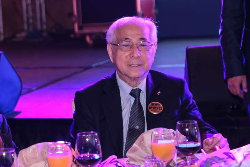 20180120-前駐日代表許世楷20日出席時代力量黨慶暨募款餐會。(顏麟宇攝)