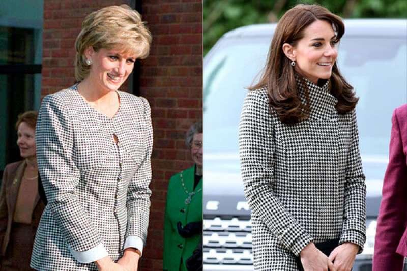 黛妃和凱特是英國皇室裡的時尚指標,兩人的用心搭配,創造出許多經典的穿搭風潮。(圖/維京人酒吧提供)