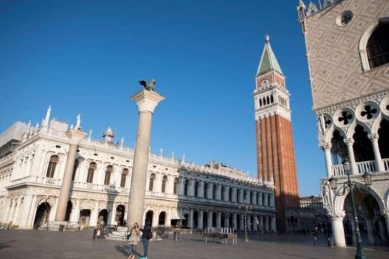 威尼斯著名的聖馬可廣場。(BBC中文網)