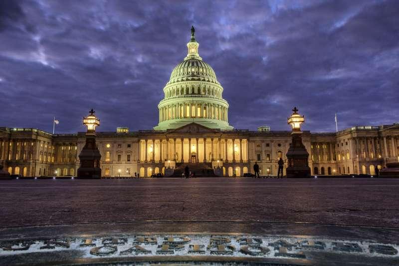 美國國會,國會山莊。(美聯社)