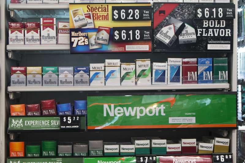 美國吸食電子菸的人口愈來愈多,傳統菸商也投入電子菸市場。(美聯社)